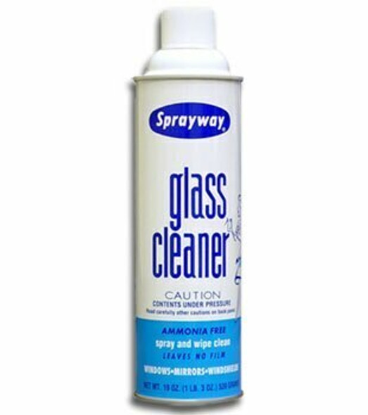 Sprayway Glass Cleaner 19 oz Can SW050 (Case of 12)
