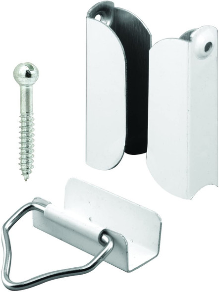 Packaged window screen hardware 7/16 - White 10 pack