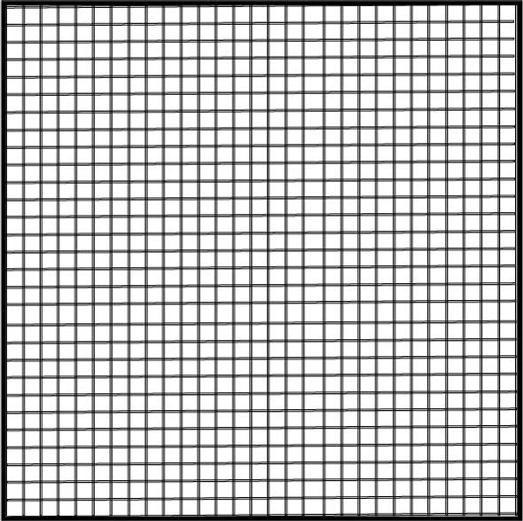 """36"""" Charcoal Fiberglass Mesh (18 X 16)"""