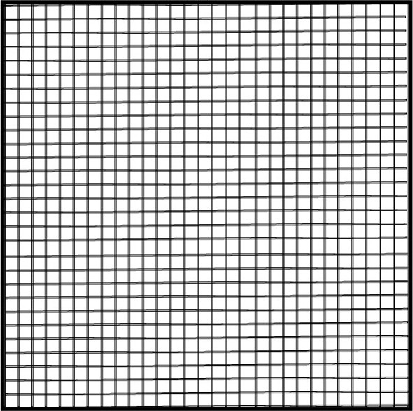 """60"""" Charcoal Fiberglass Mesh (18 X 16)"""