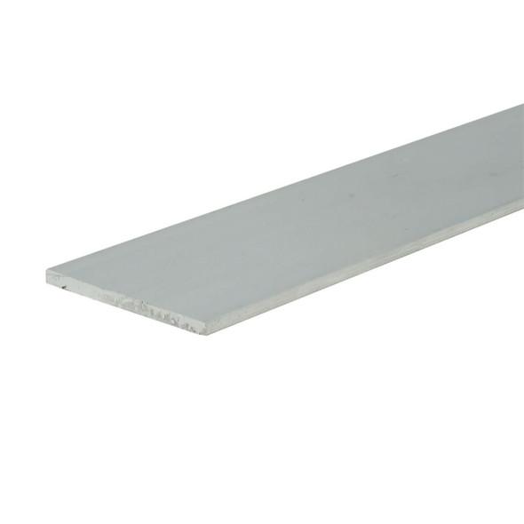 "1-1/2"" X 1/16"" Aluminum Flat Bar 6063 Alloy Unfinished  47 7/8"" Long"