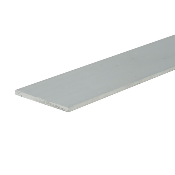 "1"" X 1/16"" Aluminum Flat Bar 6063 Alloy Unfinished  95"" Long"