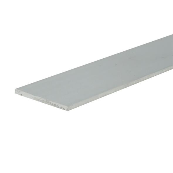 "1"" X 1/16"" Aluminum Flat Bar 6063 Alloy Unfinished  47-7/8"" Long"