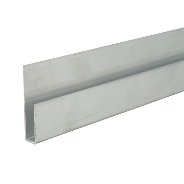 6063 Alloy Unfinished Aluminum Deep J Channel