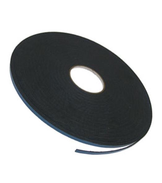 """1/16"""" X 1/4"""" Black Double Sided Foam 2 Way Glazing Tape"""