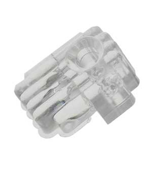 """1/4"""" Mirror Clips For Walls Or Doors - 4 Pack"""