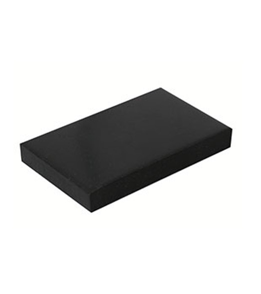 "1/4"" x 1-1/8"" x 2"" Neoprene Setting Blocks For Glass - 100 Pack"
