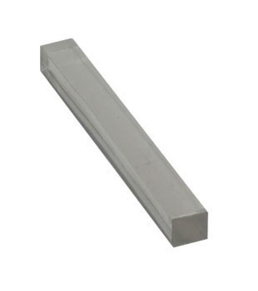 """1/4"""" x 3/8"""" x 2"""" Clear PVC Setting Blocks - 100 Pack"""