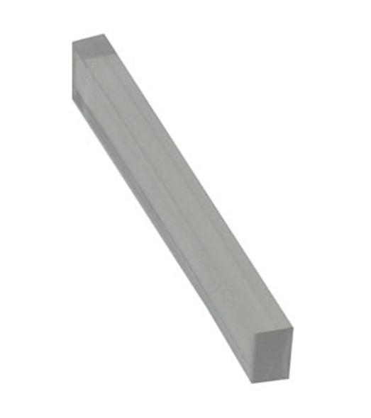 """1/4"""" x 5/32"""" x 2"""" Clear PVC Setting Blocks - 100 Pack"""