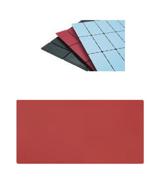 "1/8"" x  2"" x  4"" Red Vers-A-Shim Plastic Bearing Shimstrips  18 Pack"