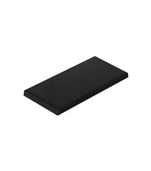 """1/8"""" x 1"""" x 2"""" Neoprene Setting Blocks For Glass - 100 Pack"""