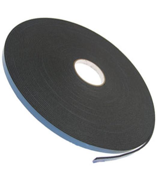 """1/8"""" X 1/2"""" Black Double Sided Foam 2 Way Glazing Tape"""