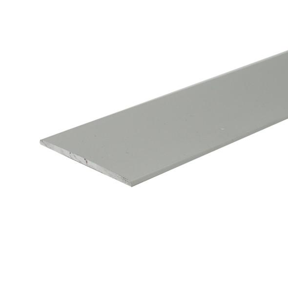 "3/4"" X 1/16"" Aluminum Flat Bar Satin Anodized Finish with Tape 95"""