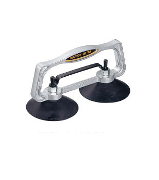 "5"" Double Cup Aluminum Handle Vacuum Lifter"