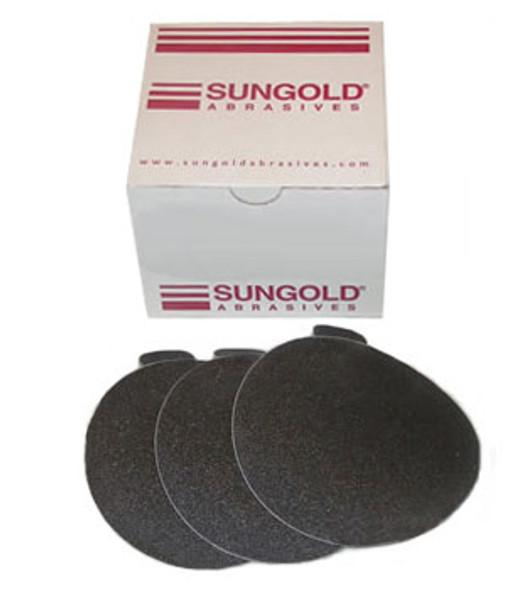 """5"""" PSA Wet / Dry Glass Sanding Discs - 400 Grit - 50 Pack"""