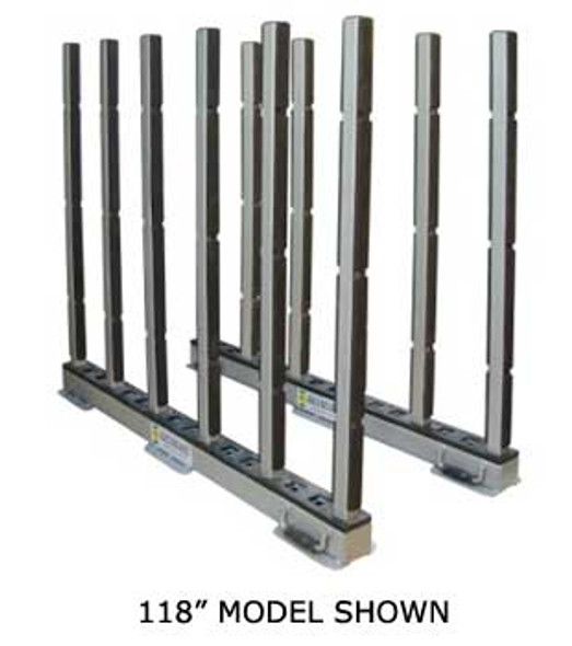"""Abaco Rhino Slab Rack with Rubber Lining for Stone 118"""""""