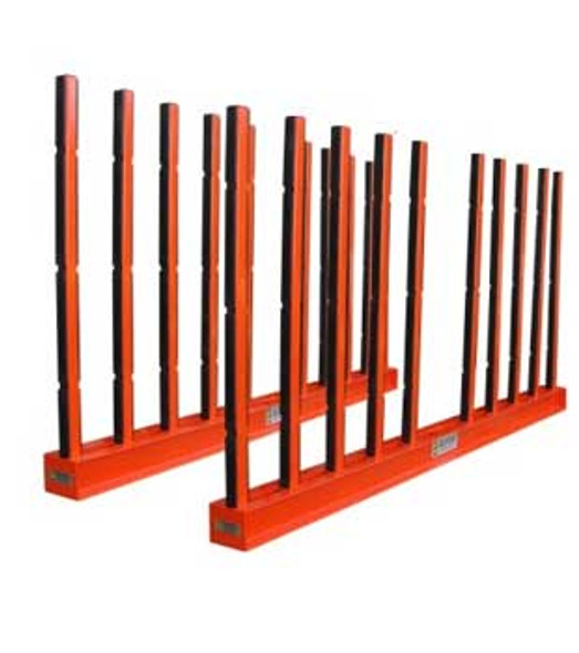 """Abaco Slab Rack  with Rubber Lining for Stone 118"""" SRK-10R"""