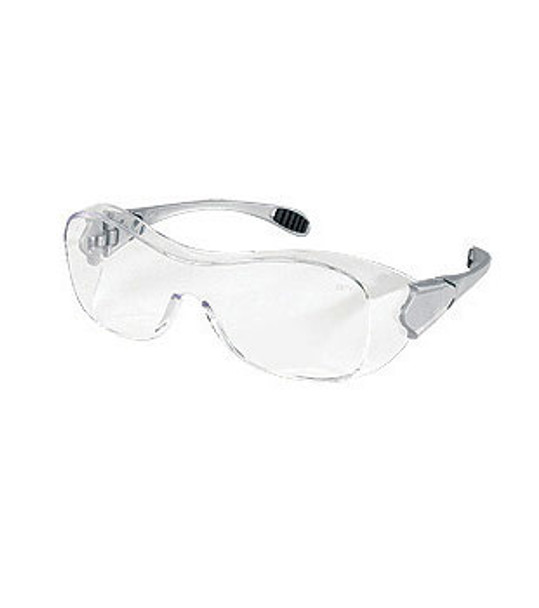 Crews Law OTG Dielectric Safety Glasses with Clear Frame and Lens