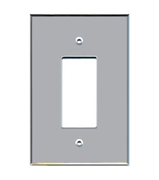 Custom Jumbo Single Decora Acrylic Mirror Switch Cover Plate
