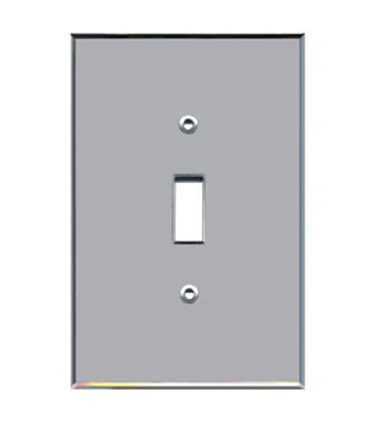 Custom Jumbo Single Toggle Acrylic Mirror Switch Cover Plate