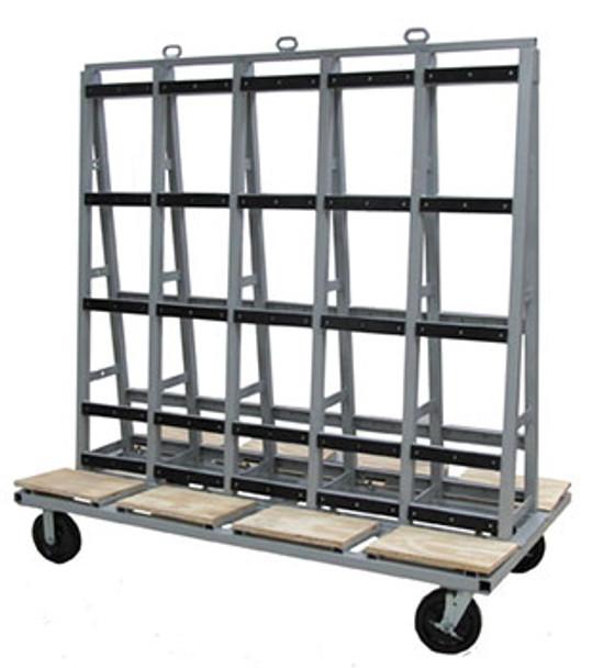 "Groves GLC Glass Cart 72"" x 40"""
