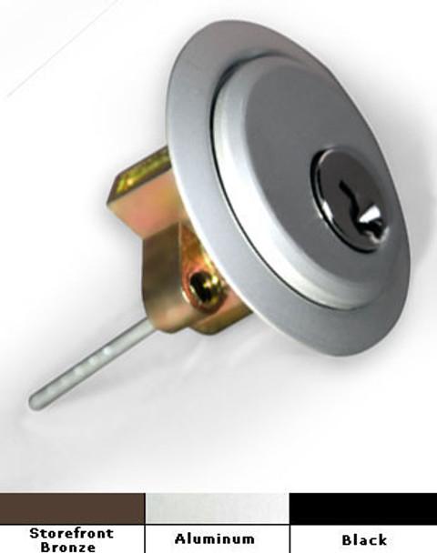 International Commercial Door Mortise Rim Key Cylinder Lock  RZ 1003