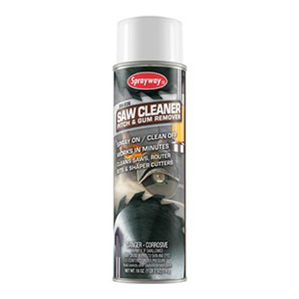 Sprayway SW836 Saw Cleaner & Gum Remover 18 oz Can