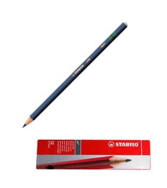 Stabilo All 8041 Light Blue Glass Marking Pencil