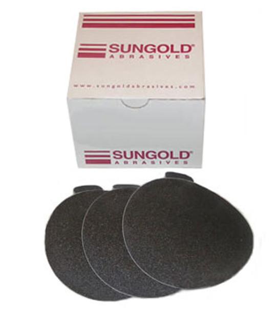 """7"""" PSA Wet / Dry Glass Sanding Discs - 80 Grit - 50 Pack"""