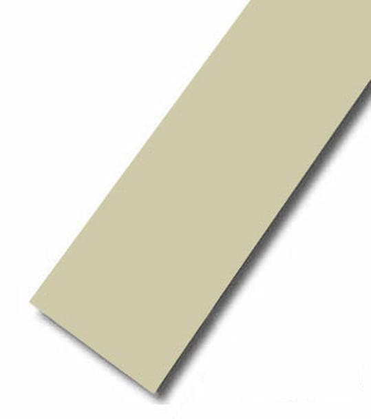 Almond Vinyl Flat Bar Window Trim