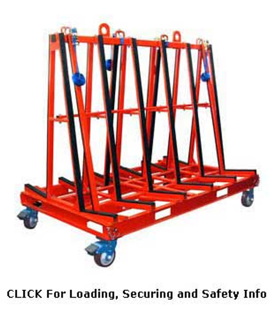 """Abaco 71"""" x 78"""" One Stop A-Frame Cart"""