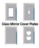 Glass Mirror Cover Plates