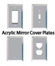 Acrylic Mirror Cover Plates
