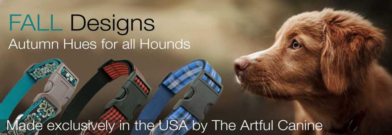 fall dog collars