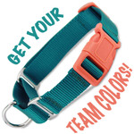 Custom Buckle Martingale in your Favorite Team colors