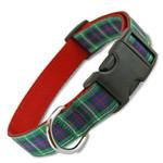 MacKenzie Plaid Dog Collar, MacKenzie tartan