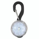 LED dog tag, small, white