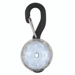 LED dog tag, small, white