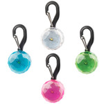 Crystal LED pet lights, tag, small