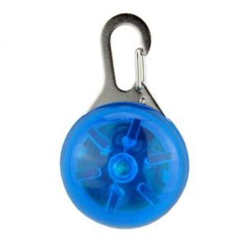Blue LED Dog Tag