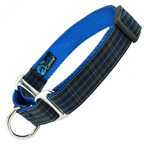 Plaid Martingale dog Collar, Royal Pride of Scotland, Limited Slip, Safety Collar