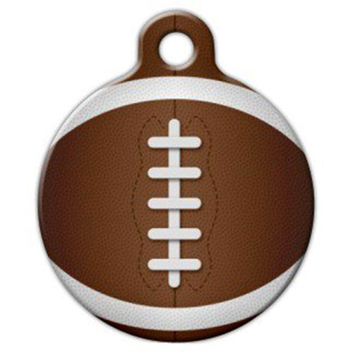Football Dog ID Tag