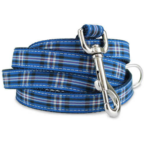 Rangers Plaid Dog Leash