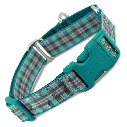 Buckle martingale collar, Preppy Puppy Martingale Collar with Buckle