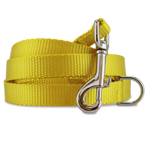 yellow-gold dog leash