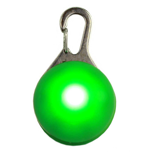 LED Dog Tag, Green