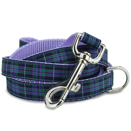 Pride of Highland Plaid Tartan dog leash