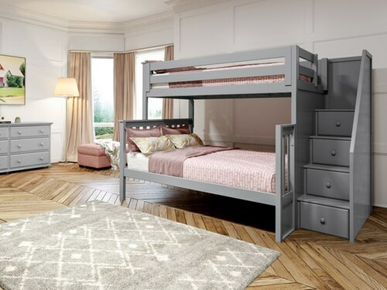 Bunk Beds Kids Teen Furniture Bedroom Source