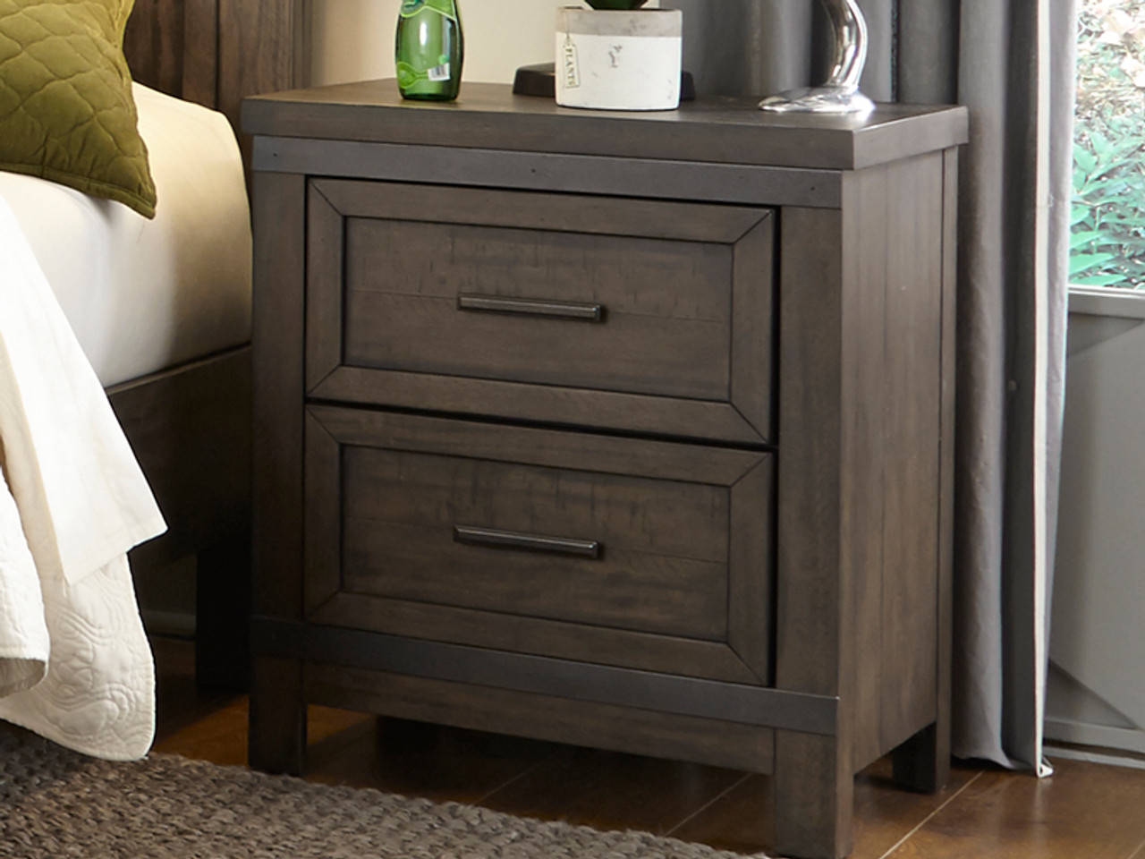 Farmhouse Night Stand Bedroom Source