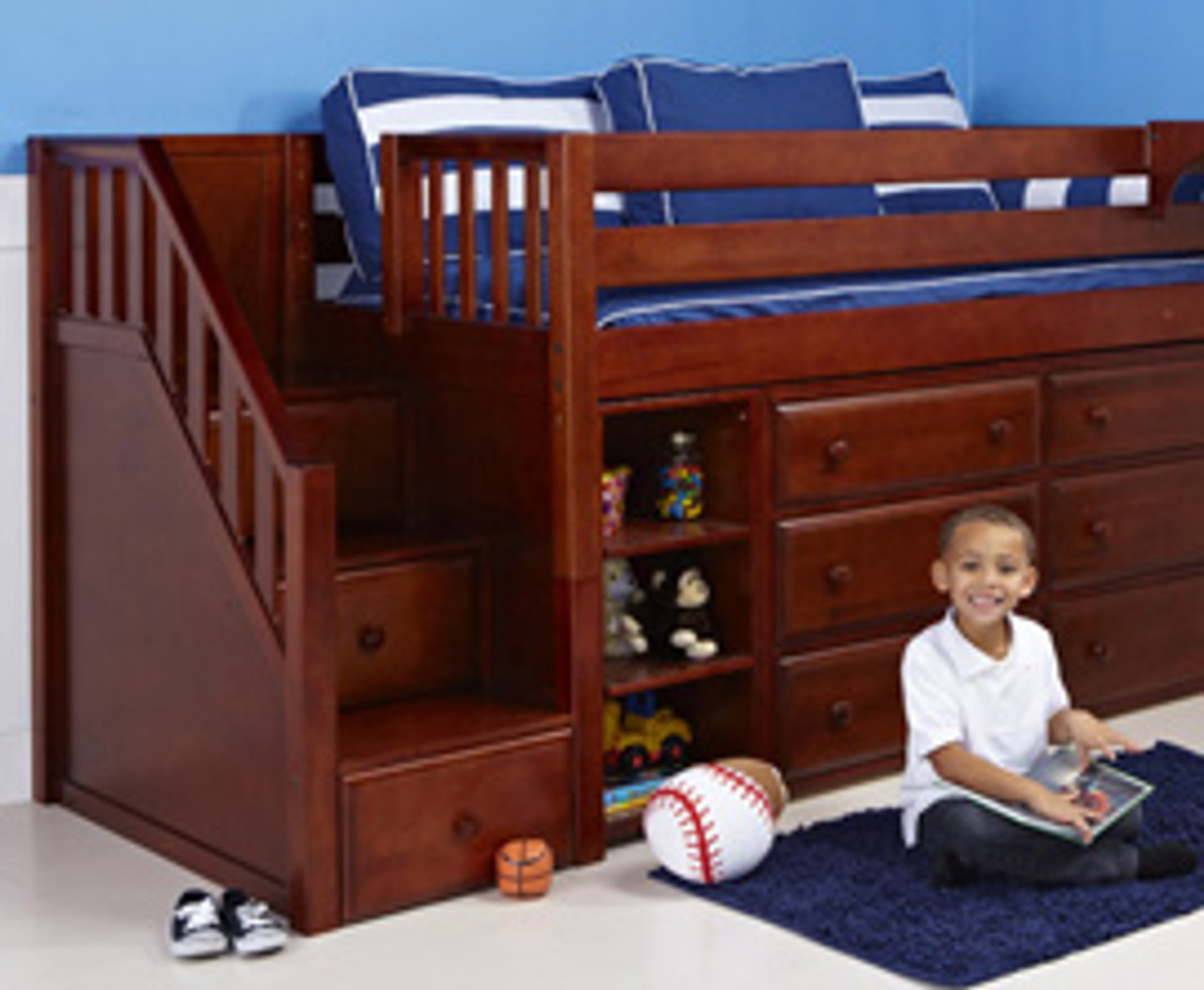 Picture of: Safe Loft Beds For Kids The Bedroom Source